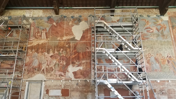 fresco restoration